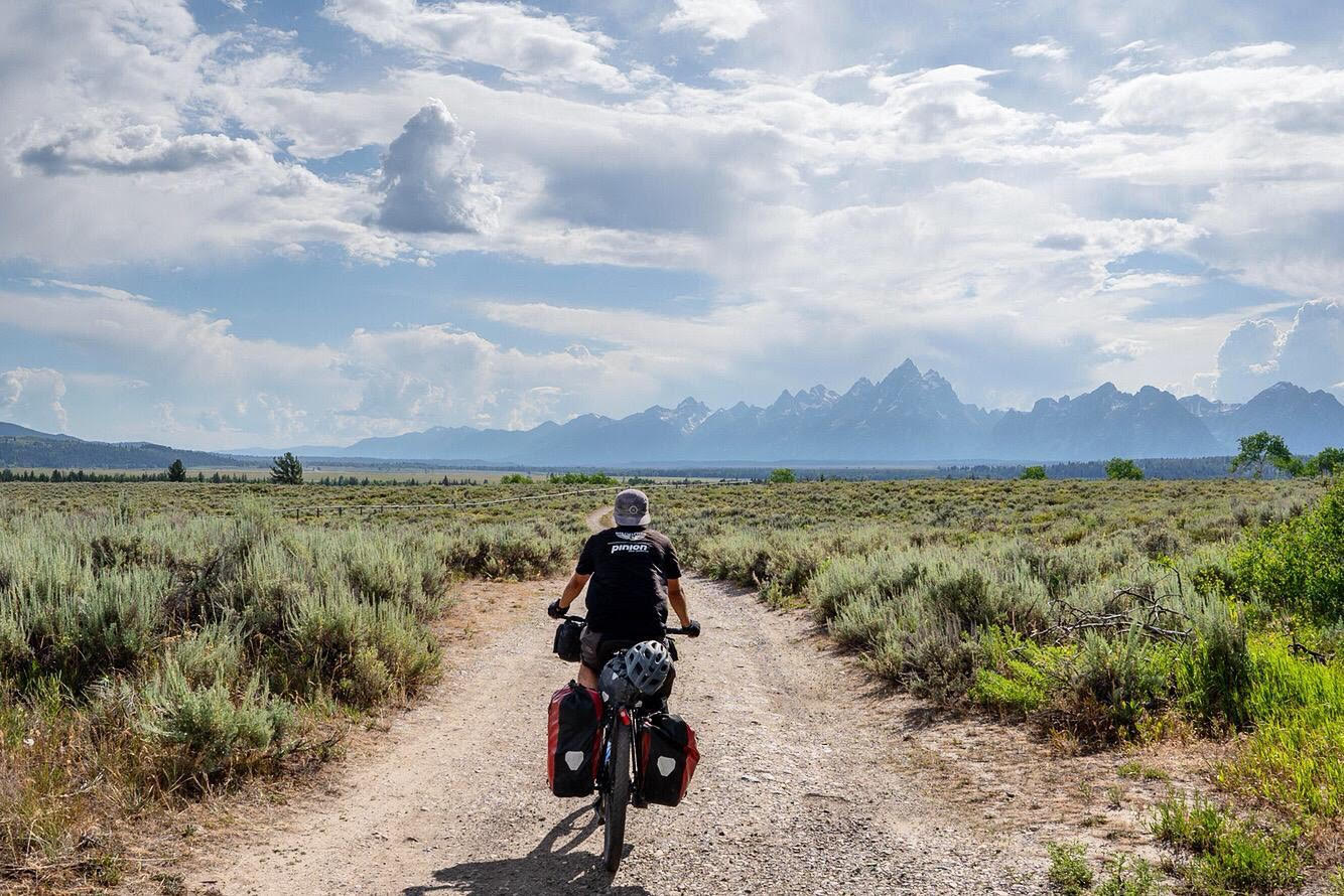 Florian Reber cycles the entirety of the Continental Divide (Courtesy of Florian Reber)