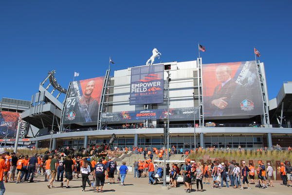 The outcome of games at Empower Field at Mile High Stadium could be gambled on should Proposition DD pass this November.