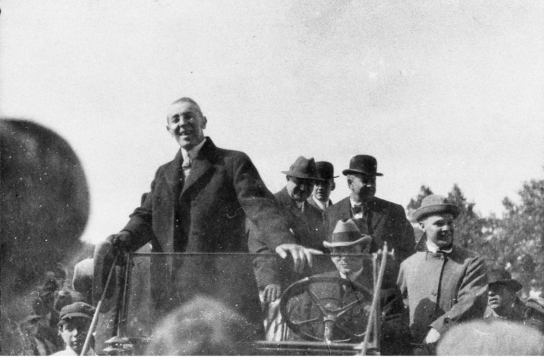 President Woodrow Wilson visits Pueblo on Sept. 25, 1919.