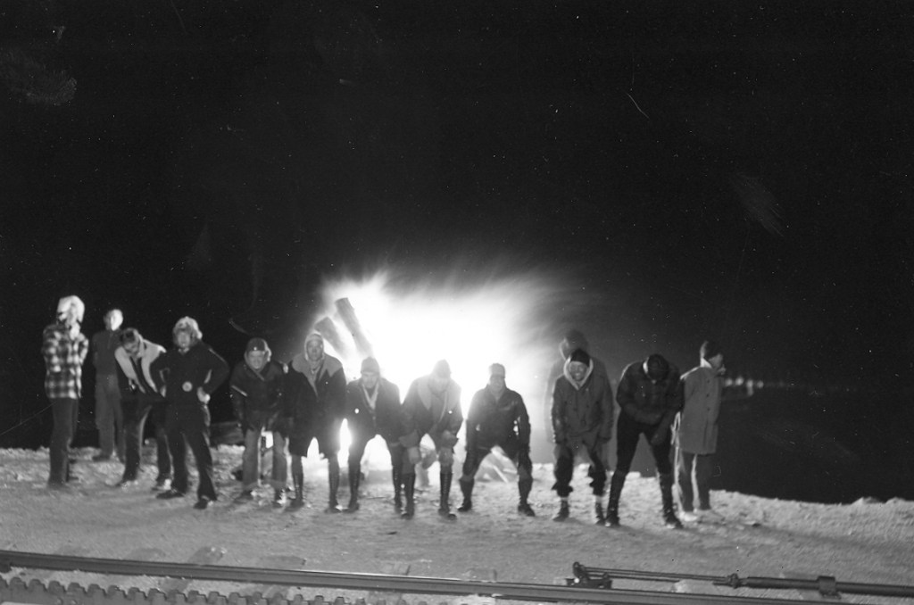 The AdAmAn Club warms up with fireworks they set off the summit of Pikes Peak. This photo was taken in 1938. For 97 years, the club has grown, thrived and become part of the rich heritage of the Pikes Peak Region