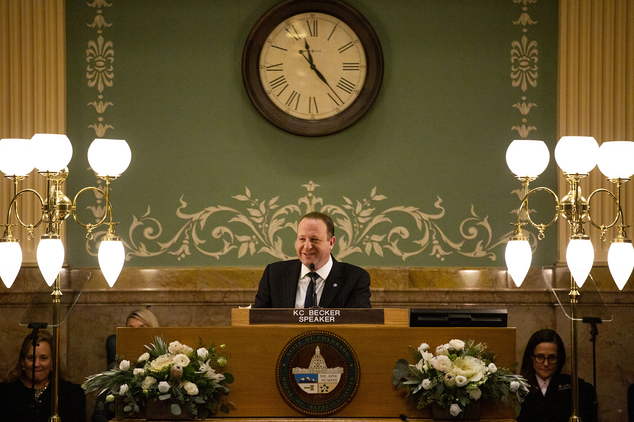 Gov. Jared Polis gives his second State of the State address, Jan. 9, 2020.