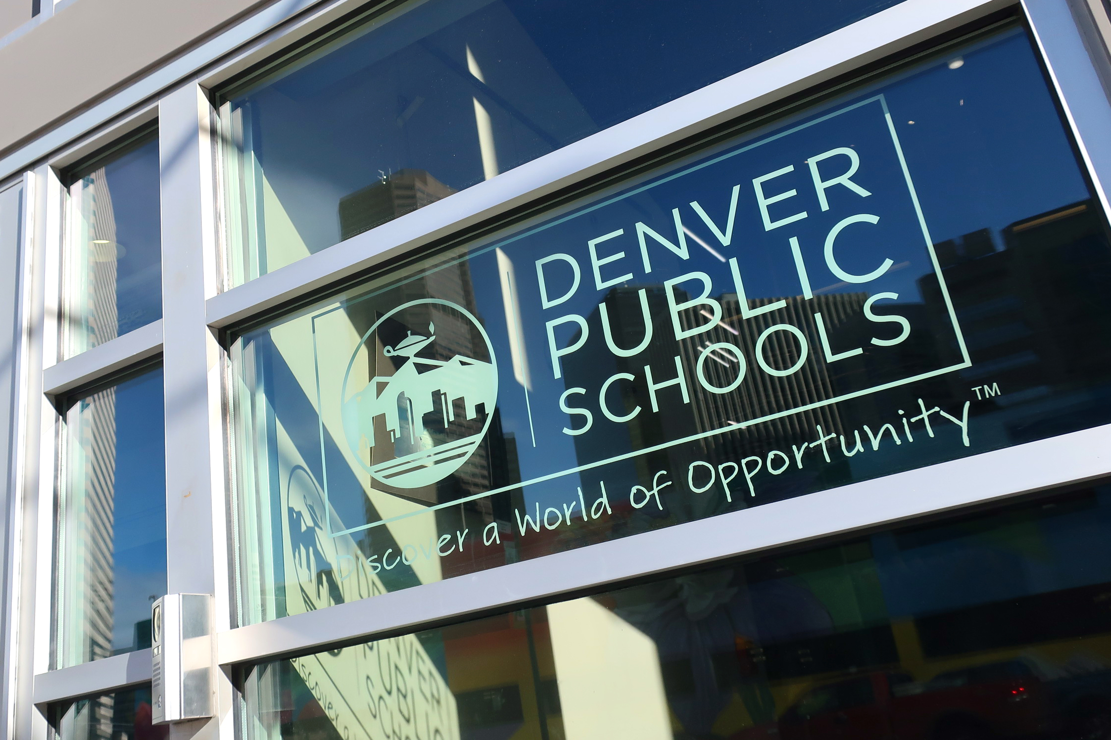 The Denver Public Schools headquarters near downtown.