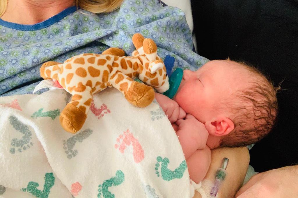 State Sen. Brittany Pettersen gave birth to a baby boy, Davis James, on Sunday, Jan. 19.