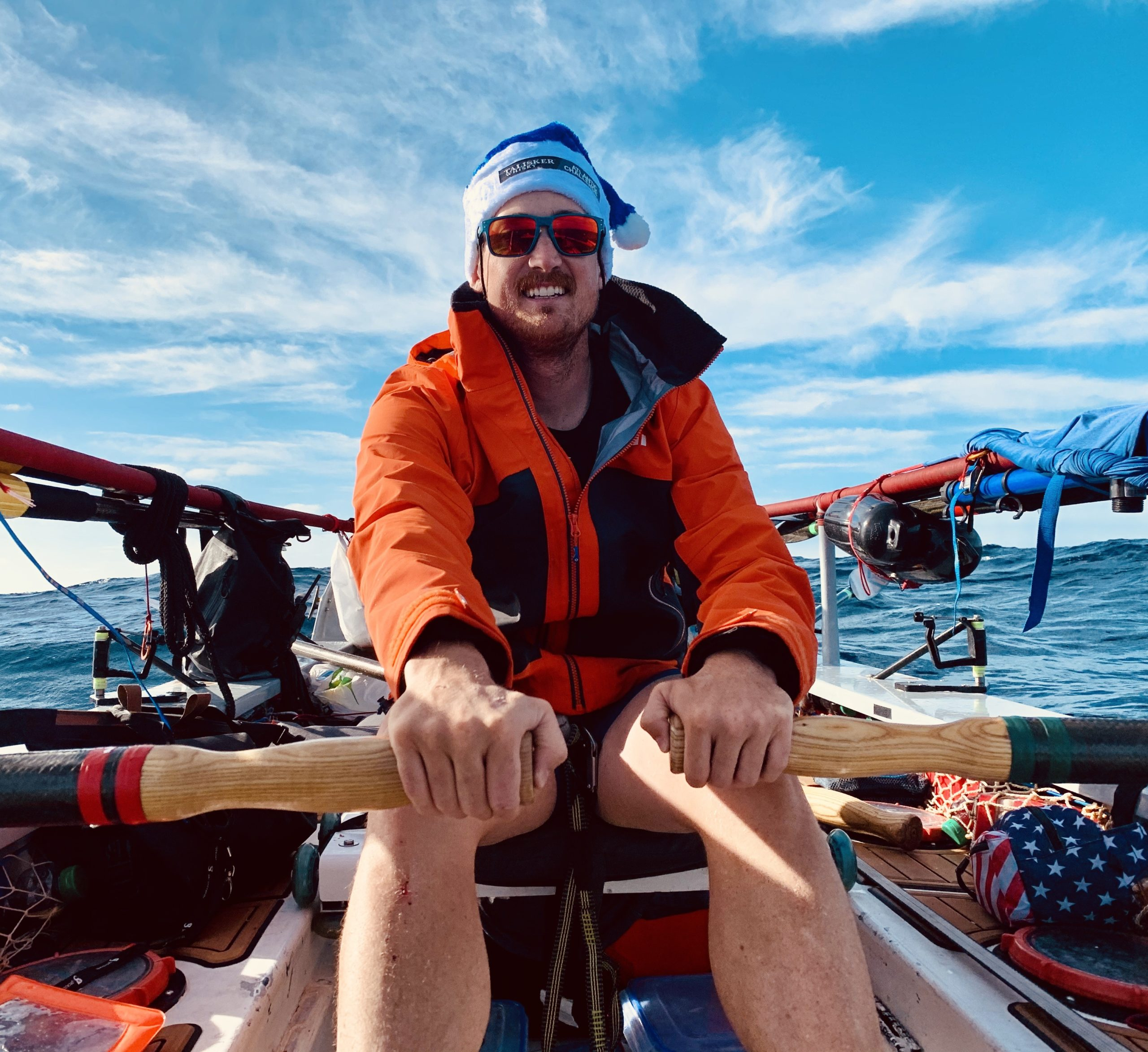 "Denver native Evan Stratton and other veterans raced across the Atlantic Ocean, in a rowboat, to raise awareness of mental health issues. The team was called ""Fight Oar Die."""