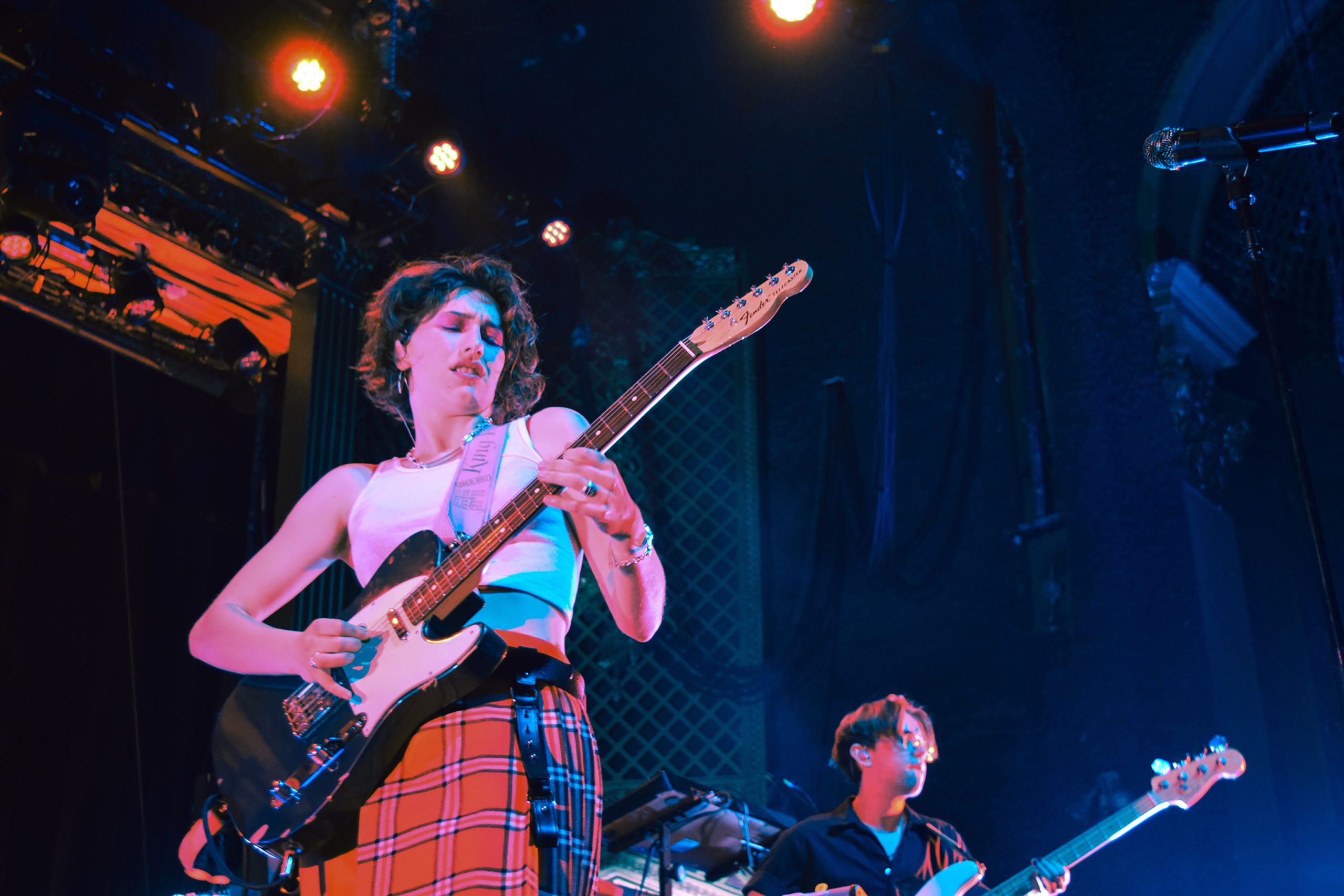 King Princess performs at the Ogden Theatre in Denver on Feb. 20, 2020.