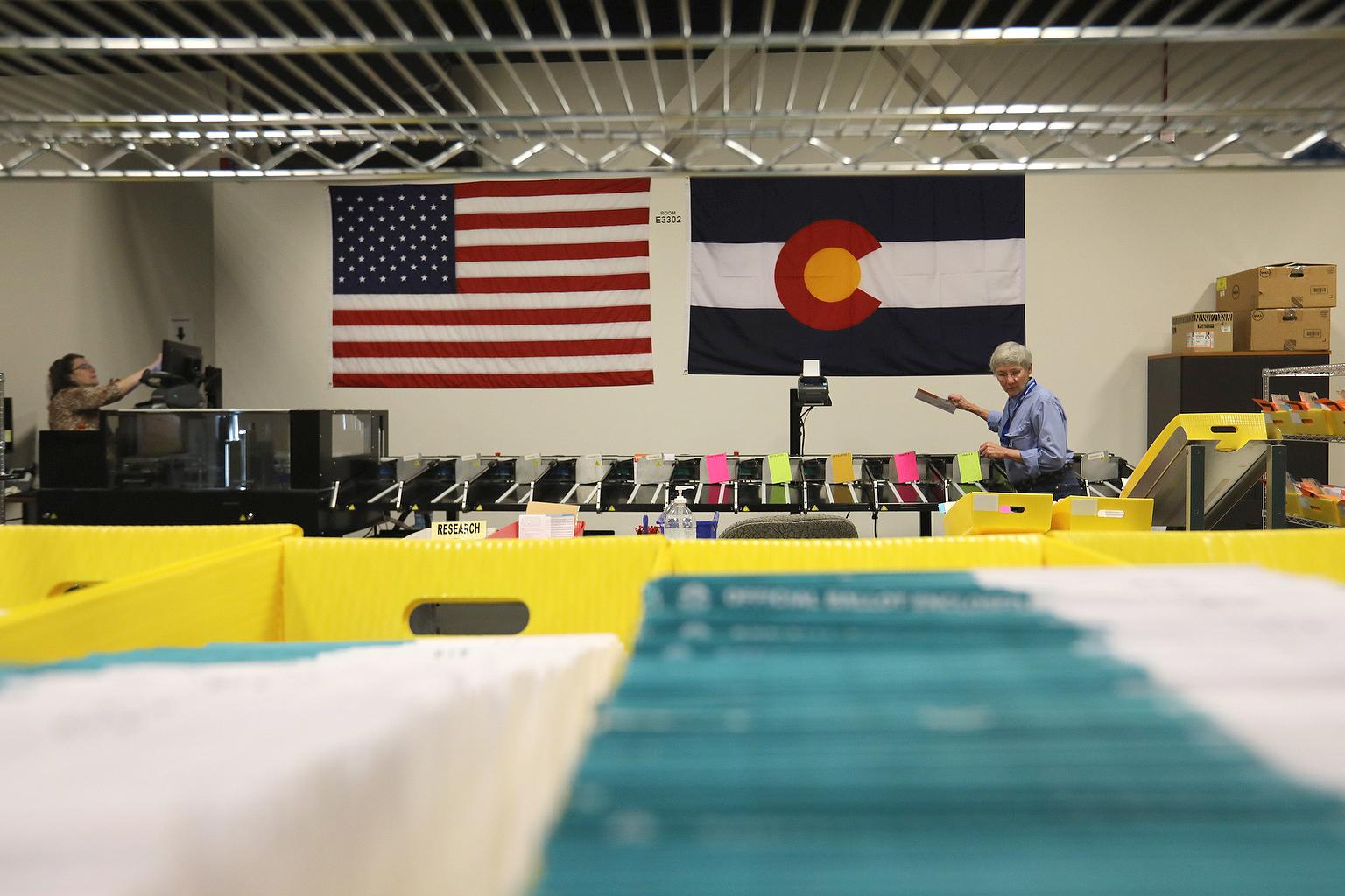 Colorado Primary Sorting Ballots Adams County