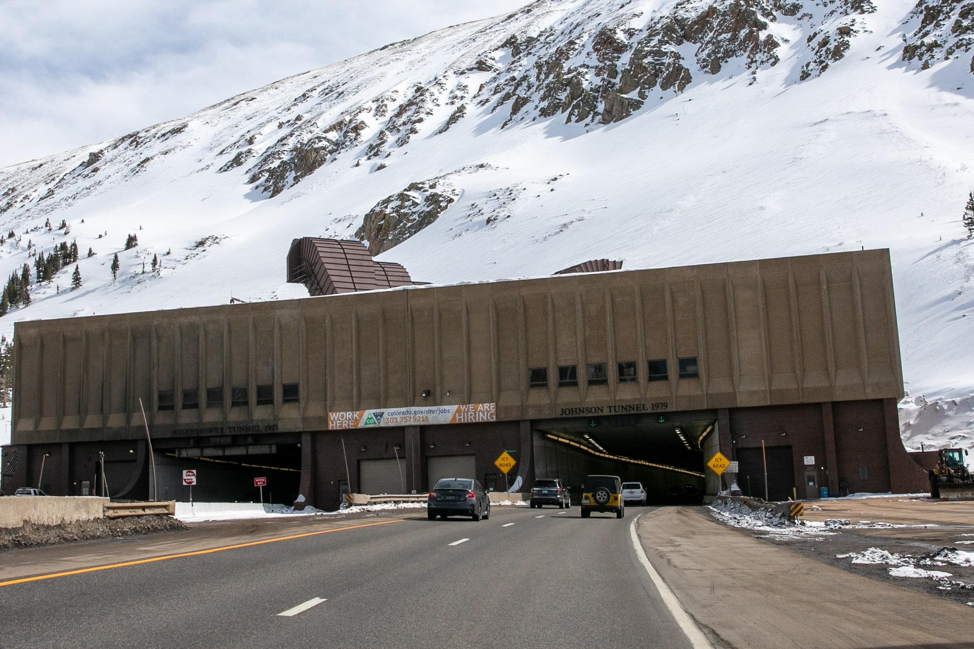 Coronavirus Summit County Eisenhower Tunnel