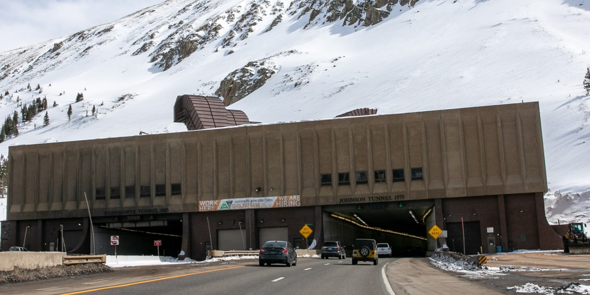 Image result for eisenhower tunnel