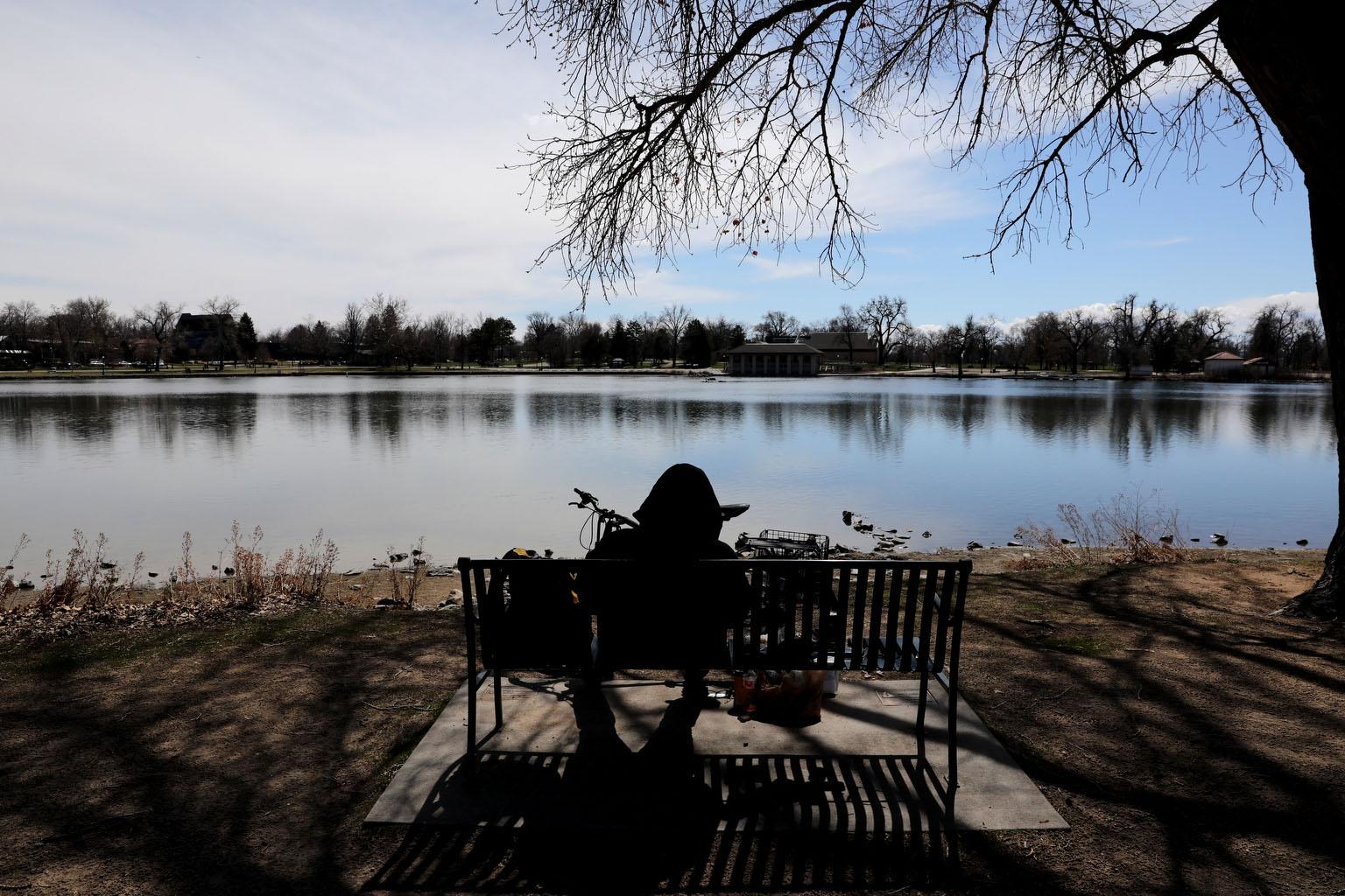 Grasmere Lake In Denver's Washington Park