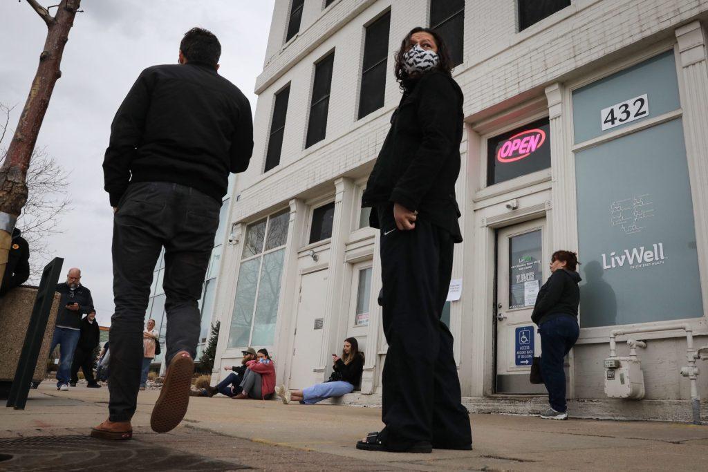 Coronavirus Hancock Closes Marijuana Stores