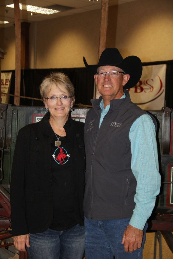 Steve and his wife Joy Wooten. Steve Wooten is the President of the Colorado Cattlemen's Association in addition to being a fourth generation rancher in southeastern Las Animas County.