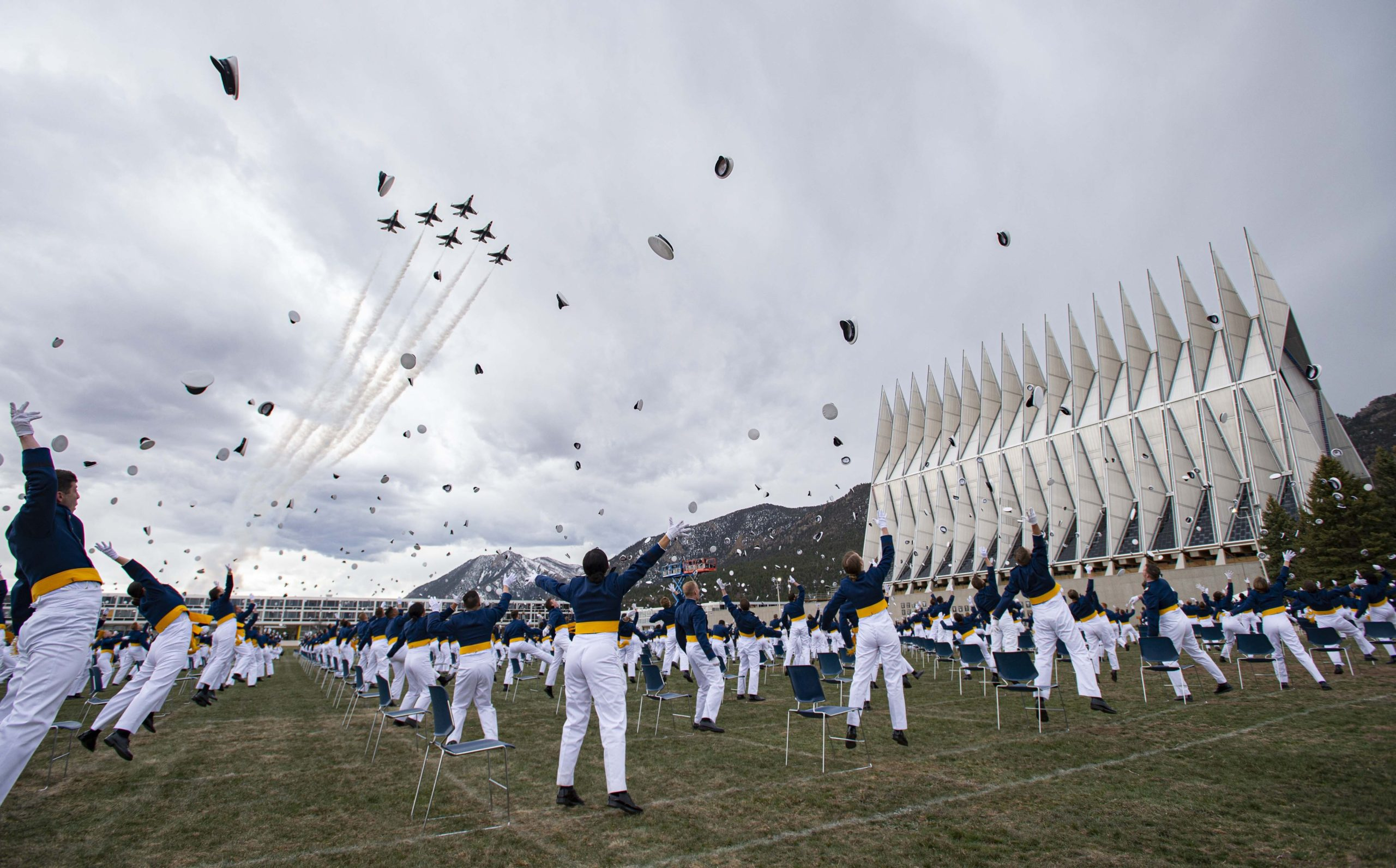 Air Force Academy graduation 2020