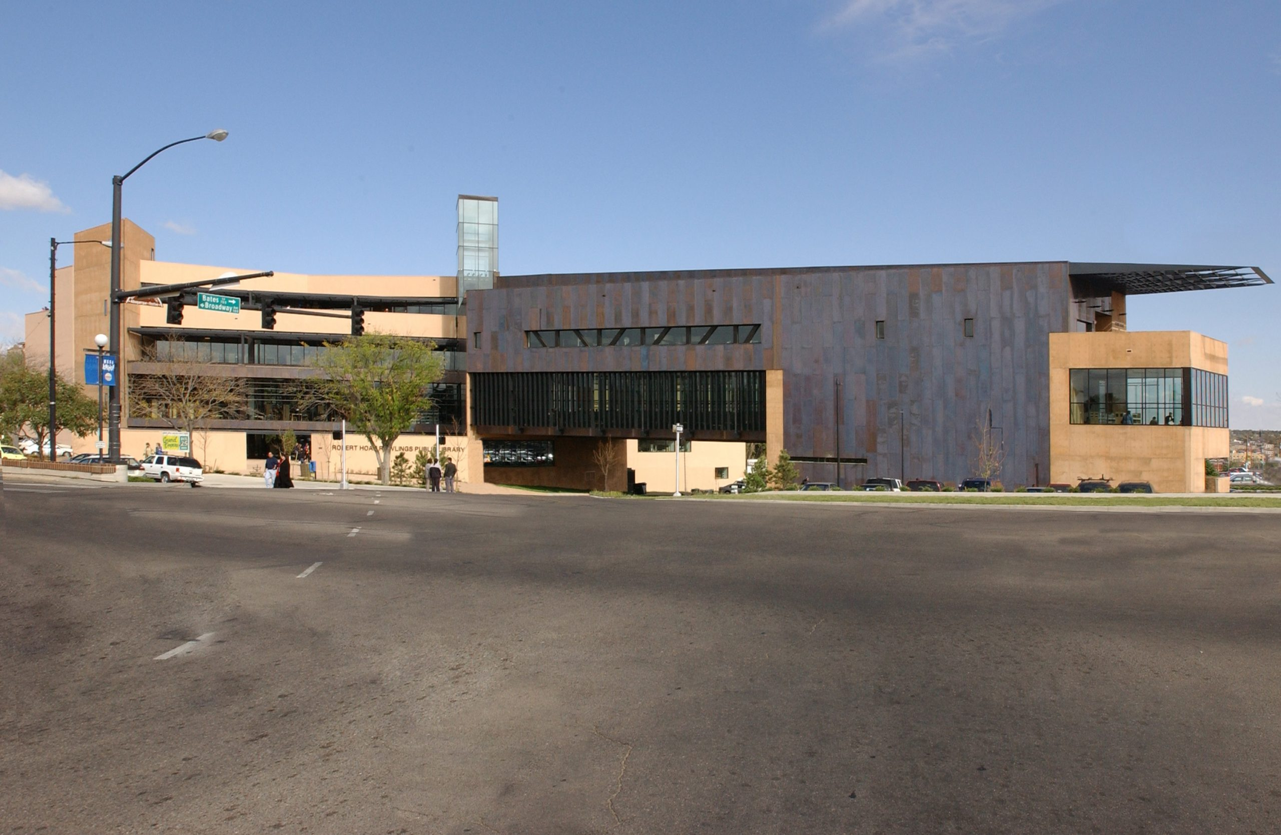The Rawlings Library is the main branch of the Pueblo City-County Library.