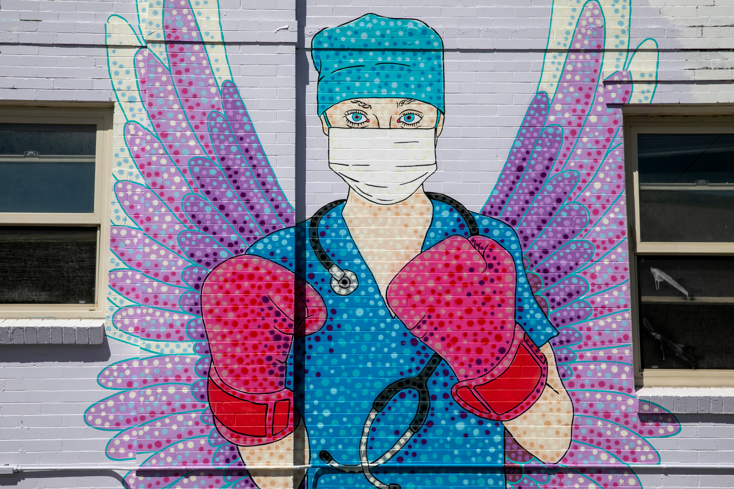Austinzart Medical Workers Mural On East Colfax