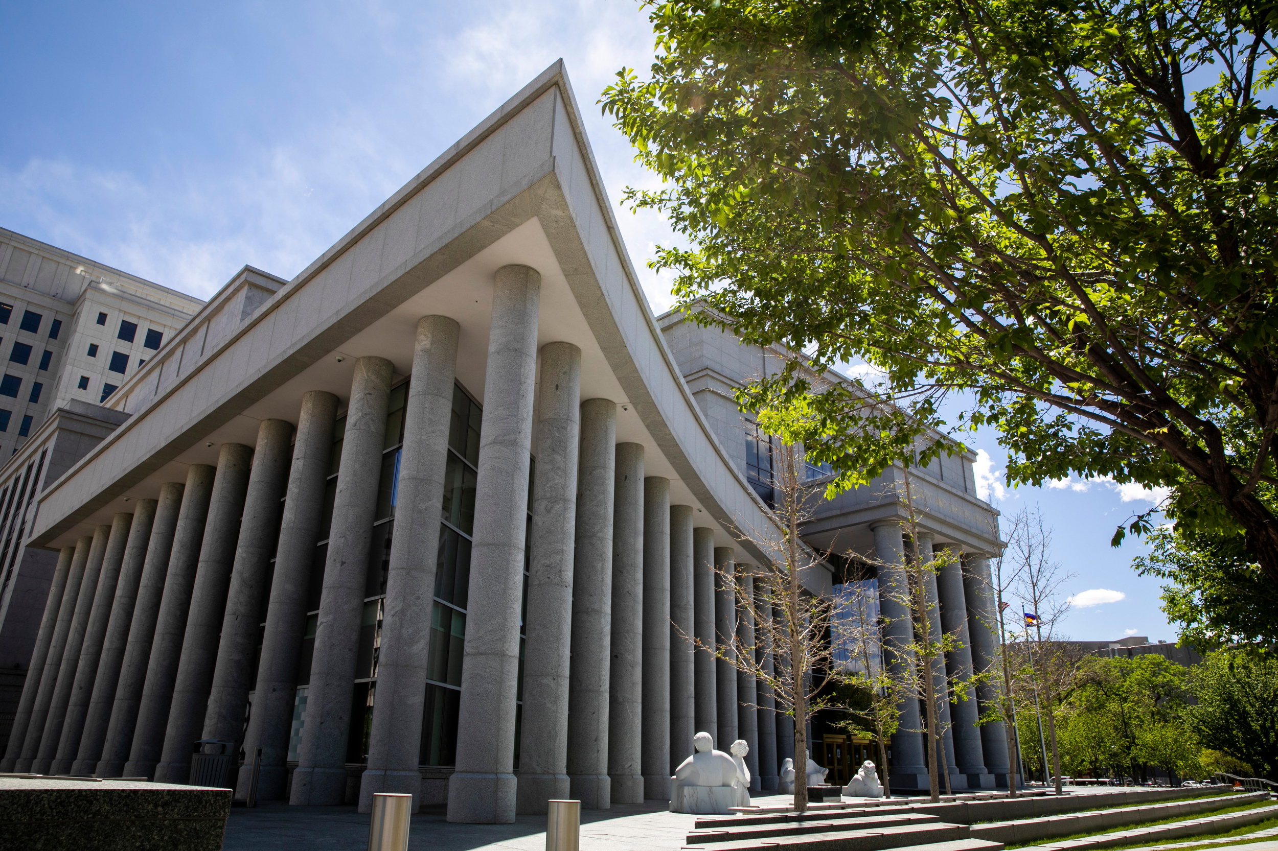 Colorado Supreme Court building in Denver