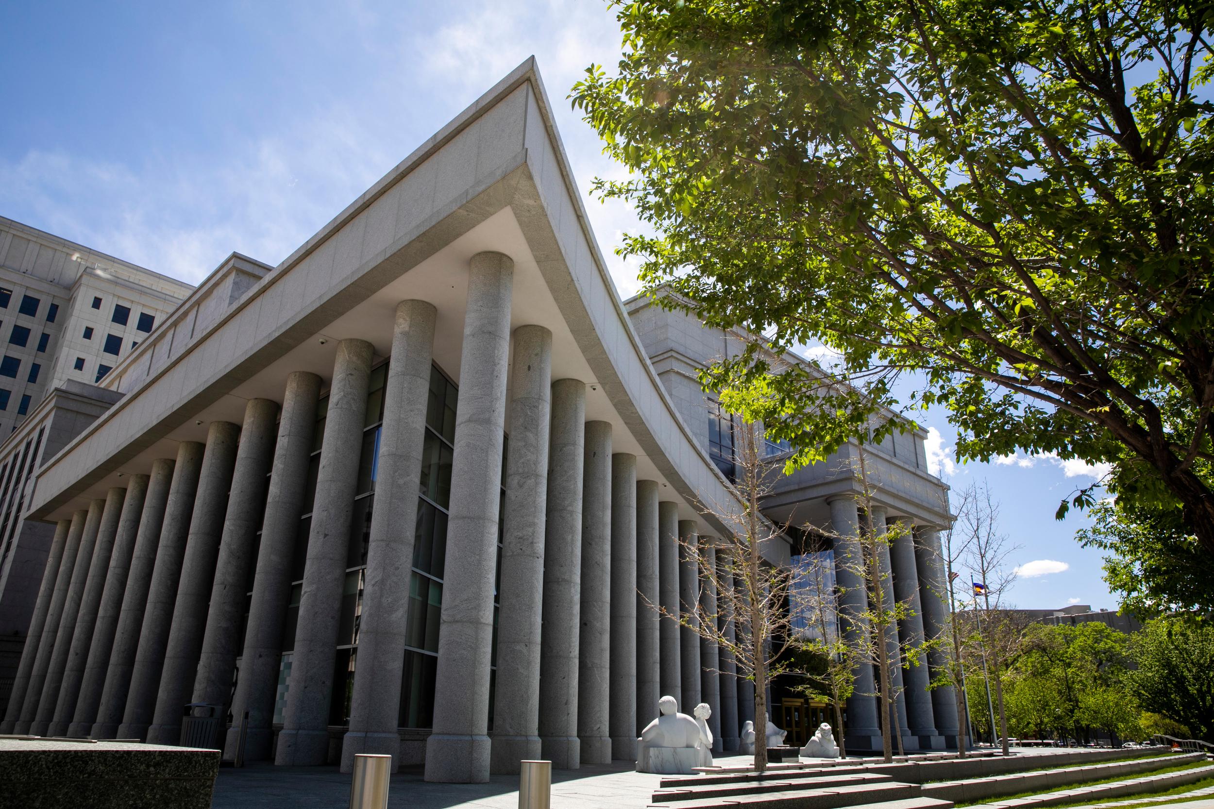 Colorado Supreme Court building in Denver