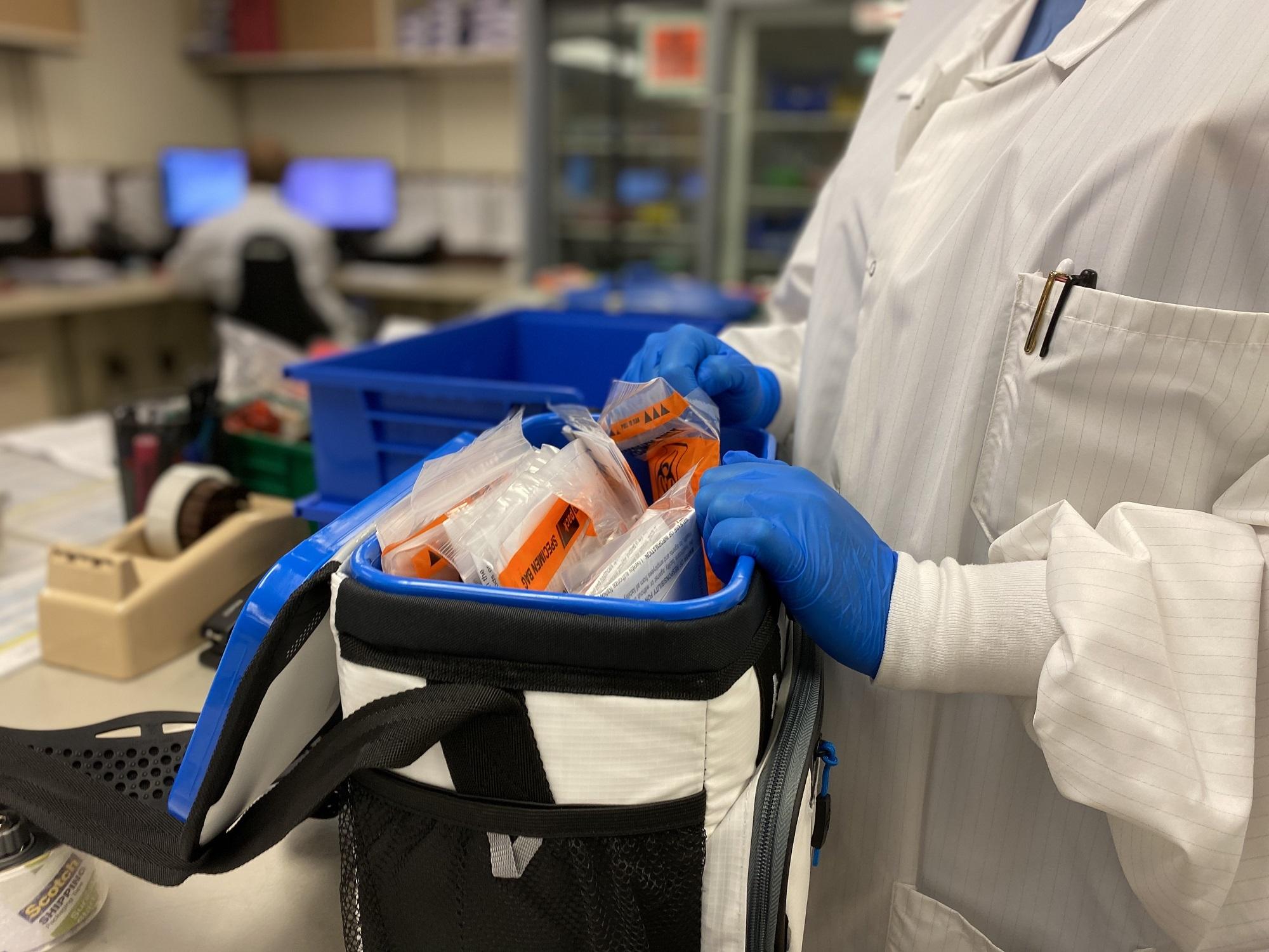 To illustrate story on antibody testing at National Jewish Health