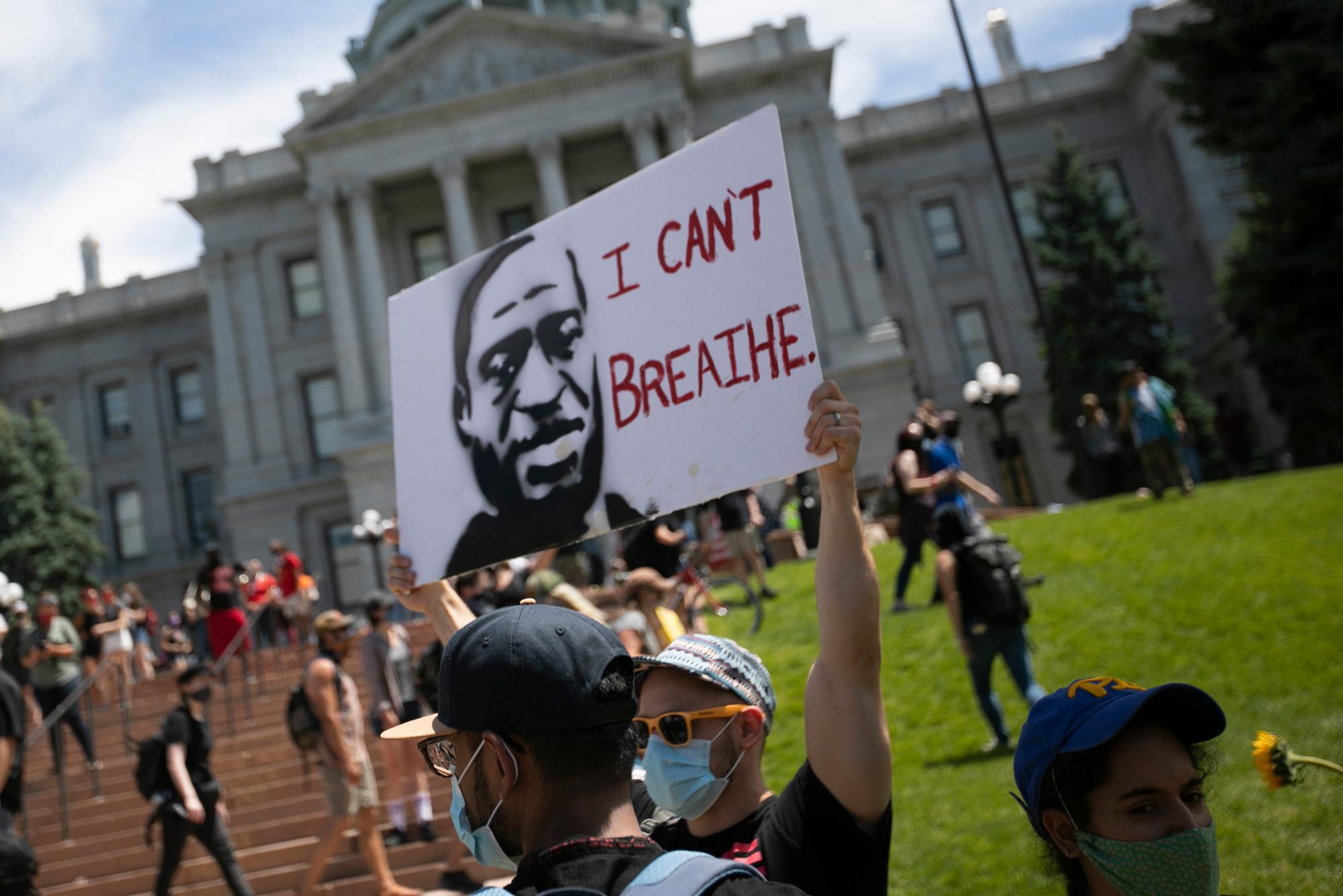 Denver Protests Against Racism Police Brutality May 2020