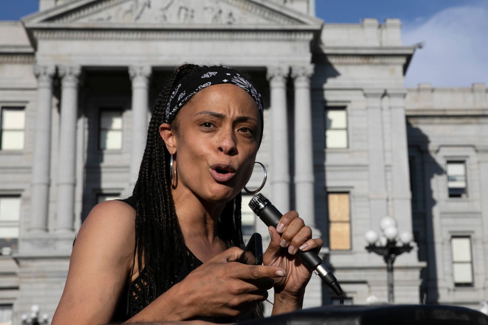Denver Protests Against Racism Police Brutality June 2020 Epps