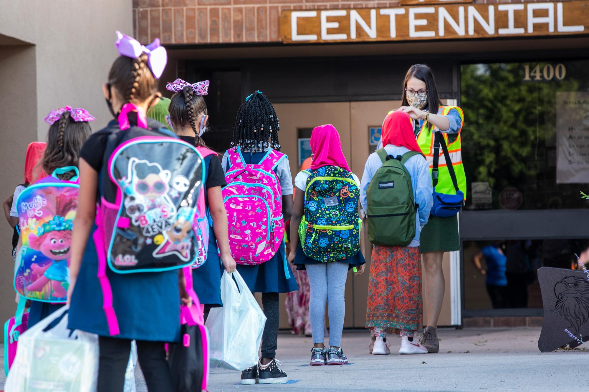 SCHOOL OPENS WELD COUNTY CENTENNIAL ELEMENTARY