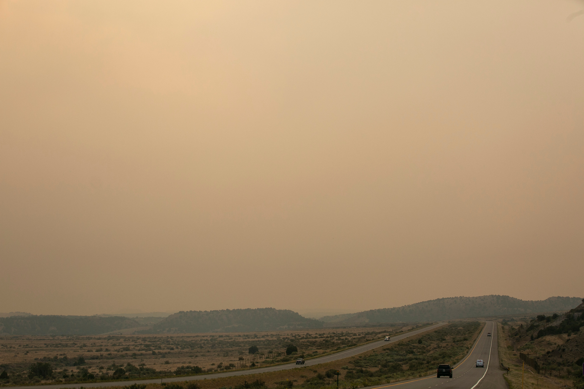 GRAND JUNCTION PINE GULCH FIRE SMOKE AIR POLLUTION