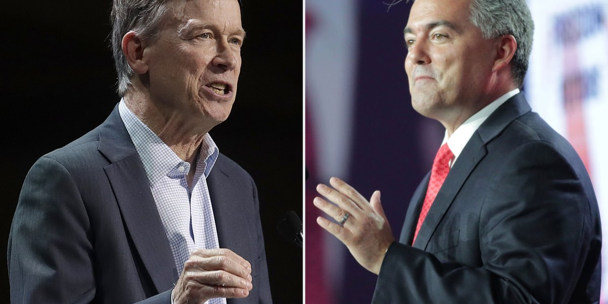 Out-Of-State Money Fuels Senate Race Between Cory Gardner And John Hickenlooper