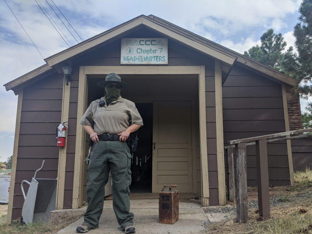 Historic Civilian Conservation Corp camp west of Denver.
