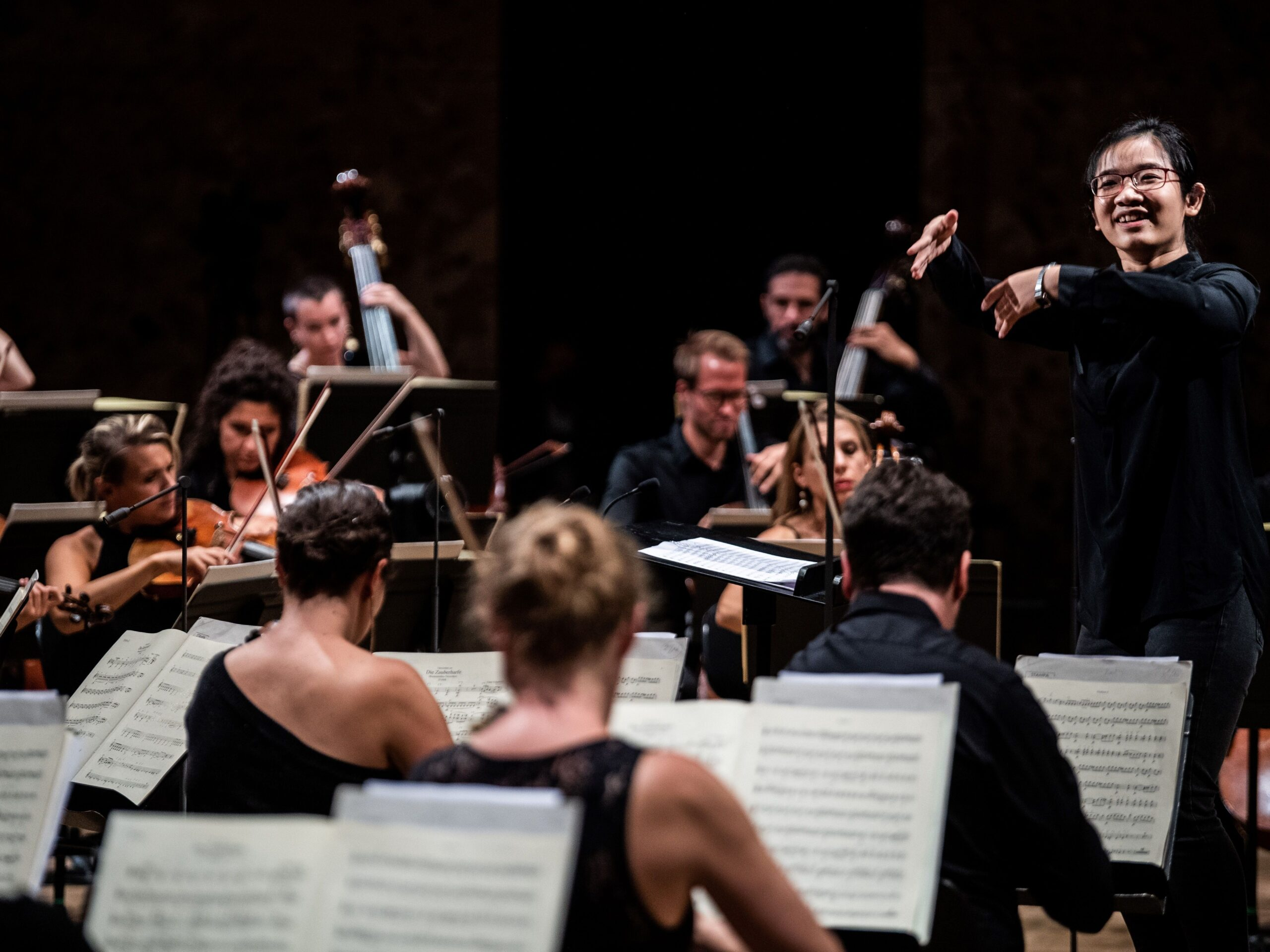 FRANCE-MUSIC-CLASSICAL-CONDUCTORS-WOMEN-CONTEST