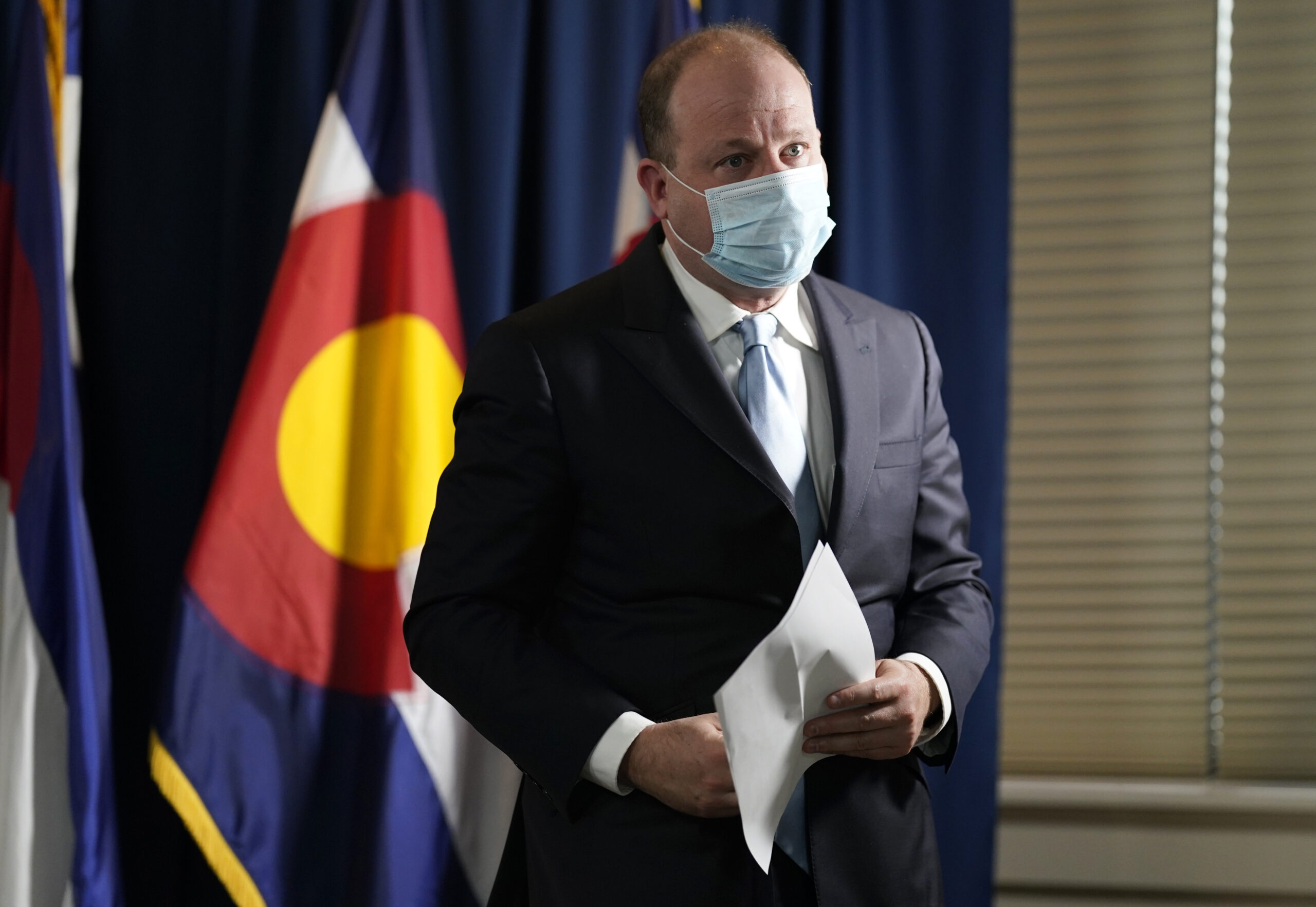 Colorado governor tests positive for coronavirus