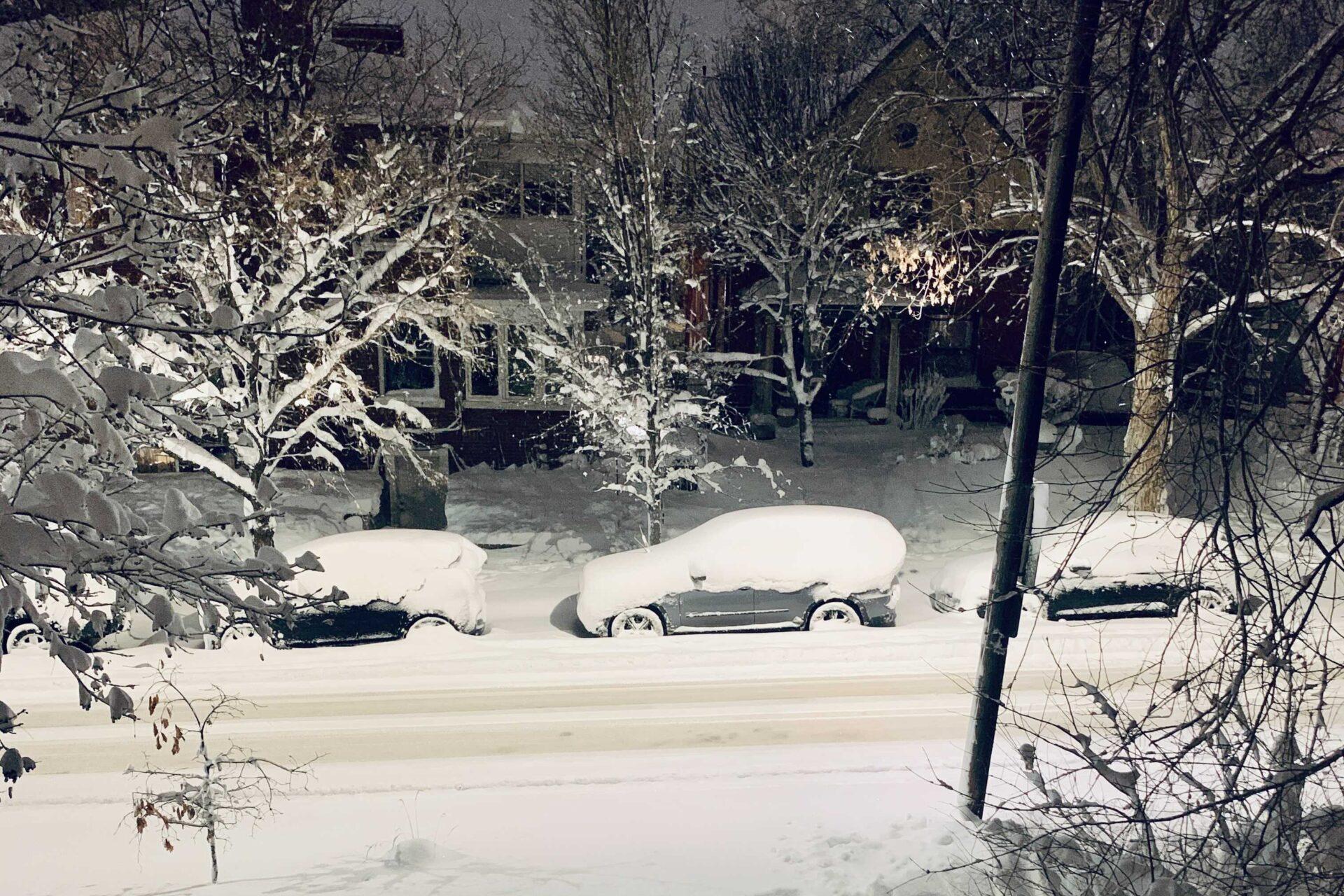 Snow Denver March 14 2021