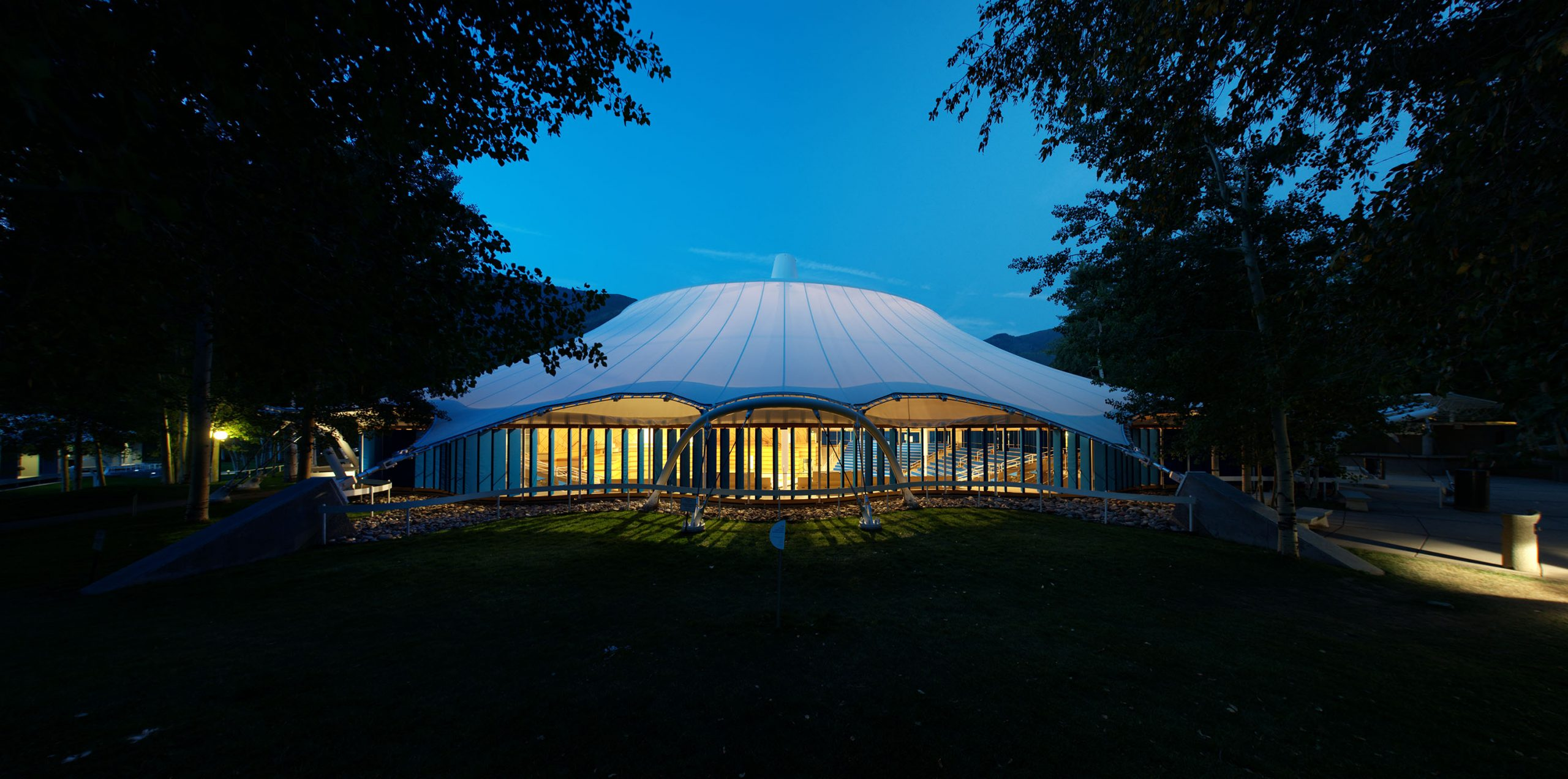 The Benedict Music Tent at the Aspen Music Festival and School will once again hold musicians and audiences with new safety measures.