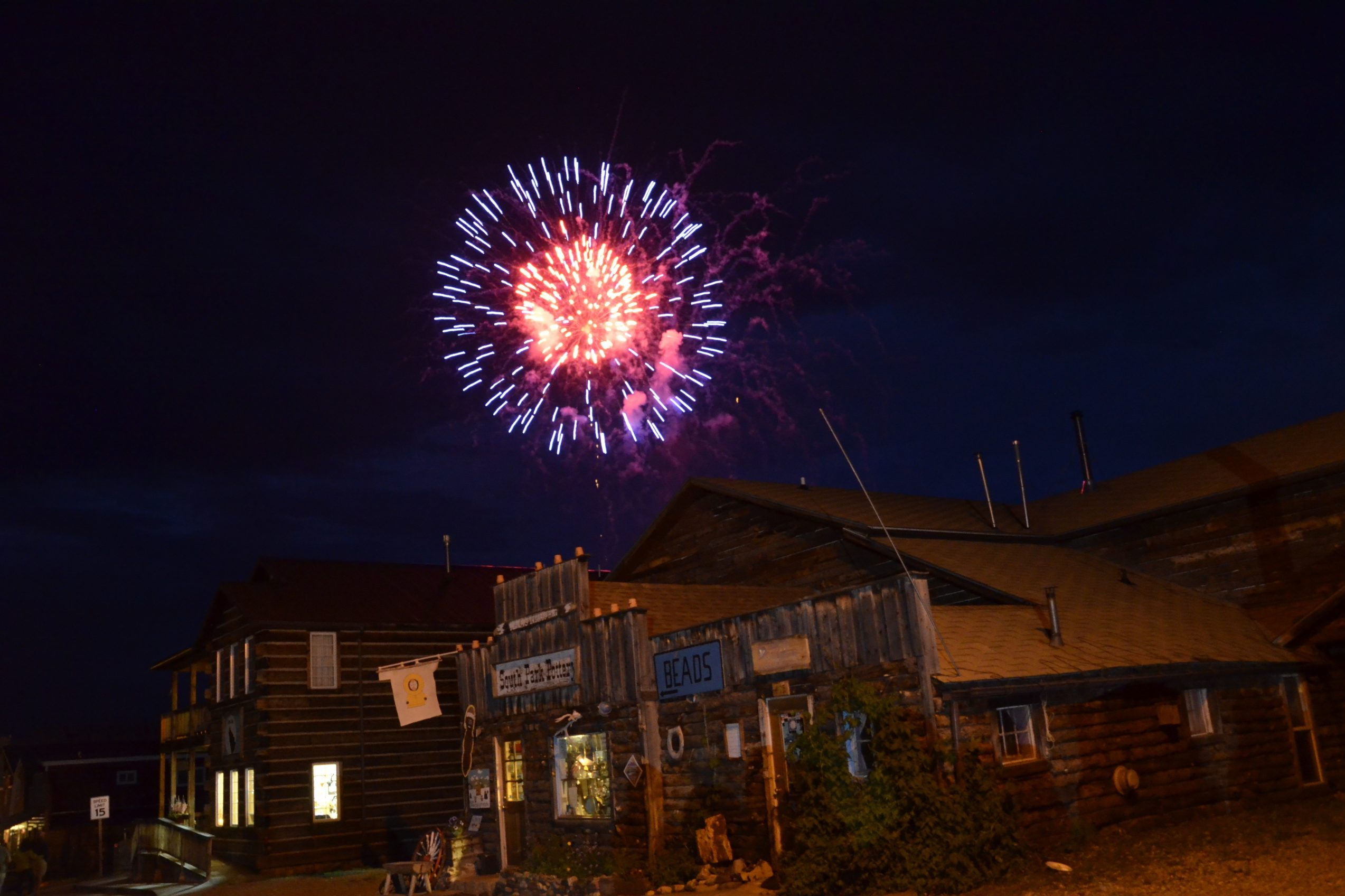 Fireworks explode over Fairplay. The small mountain town has decided to still hold its fireworks display this year, while many communities have decided against them due to high fire danger. A Fairplay official says she's hopeful recent rains will allow them to move forward as planned.
