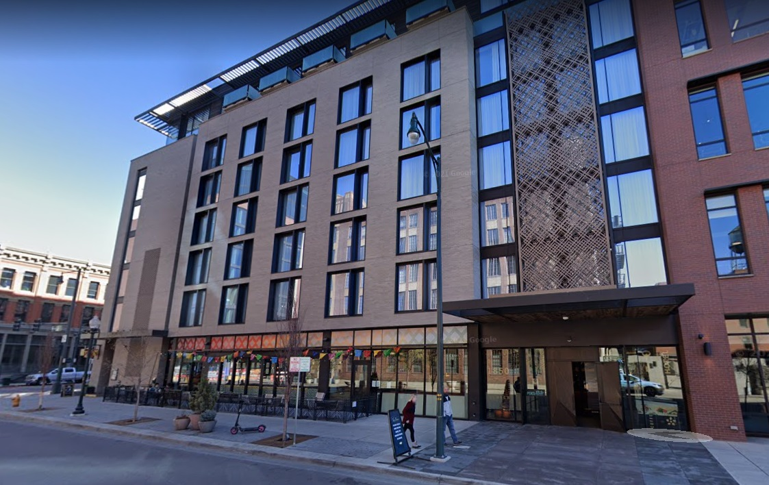 Denver officials said they obtained search warrants for two rooms at the Maven Hotel, 1850 Wazee St., after a tip from an employee.