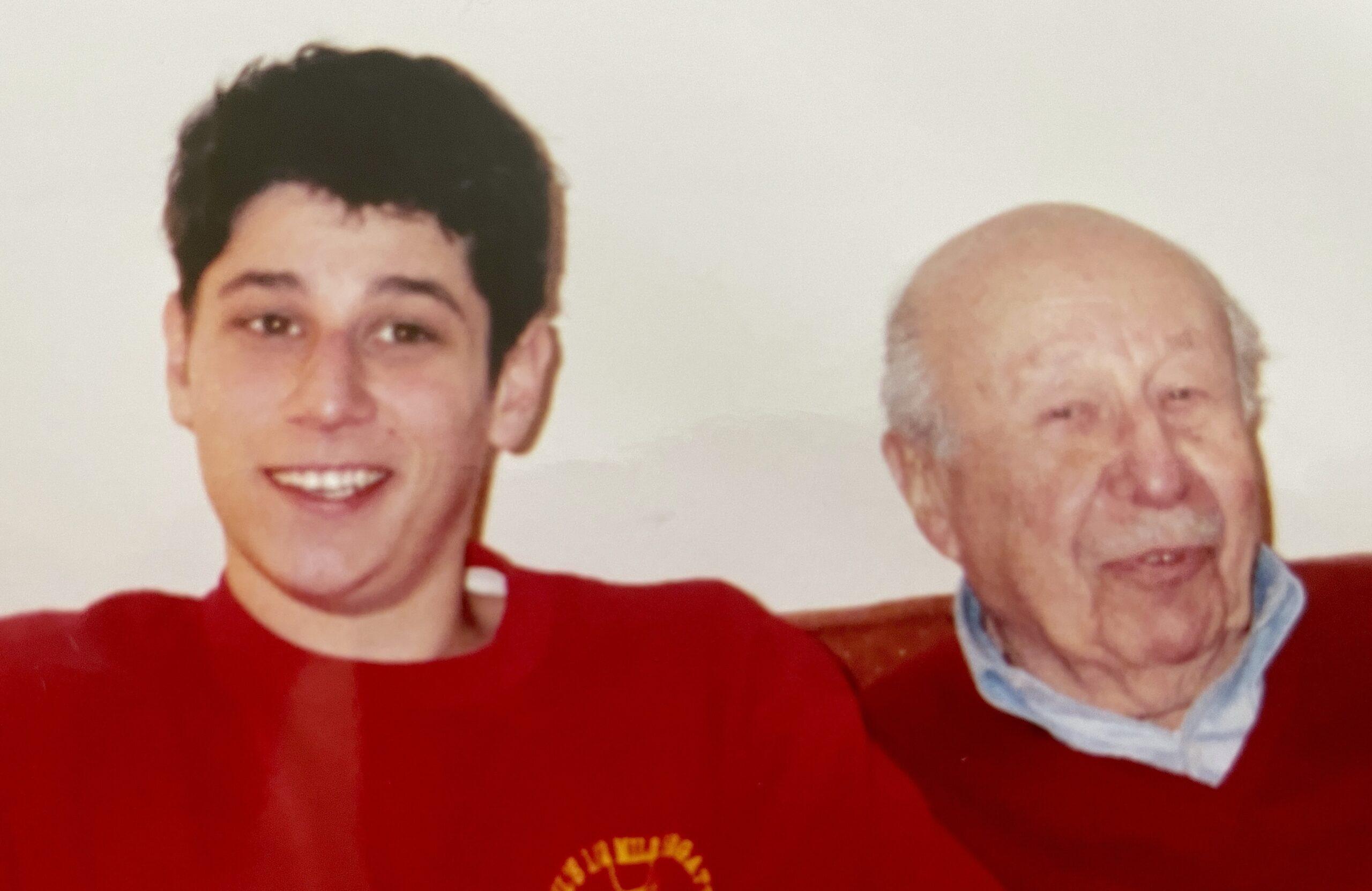 Dave Sachs and Grandpa John Sachs