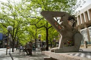 Denver's Sixteenth Street Mall  opera; denver; colorado; landmark; downtown; music; architecture; symphony; arts; kevinjbeaty; denverite