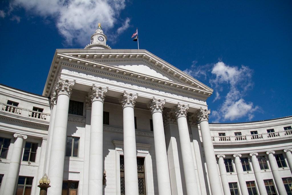 Views of Denver's City and County Building. (Kevin J. Beaty/Denverite)