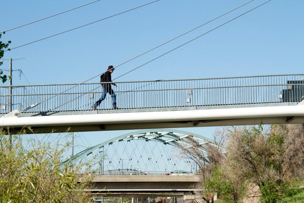 Bridges at Confluence Park  denver; colorado; river; bridge; water; kevinjbeaty; denverite; platte; platte river