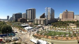 Klyde Warren Park in Dallas. (Courtesy of Klyde Warren Park.)