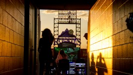 Colorado Rockies vs New York Yankees at Coors Field. June 14, 2016. (Kevin J. Beaty/Denverite)  colorado rockies; baseball; sports; kevinjbeaty; denver; colorado; denverite;