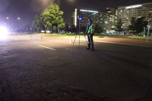 An image released by the Aurora Police Department shows the scene where a pedestrian was fatally struck, near Scranton Street and East Colfax Avenue. Courtesy Aurora Police Department