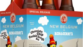 New Belgium and Ben and Jerry's have paired up again to create this curious creation. (Courtesey of New Belgium)