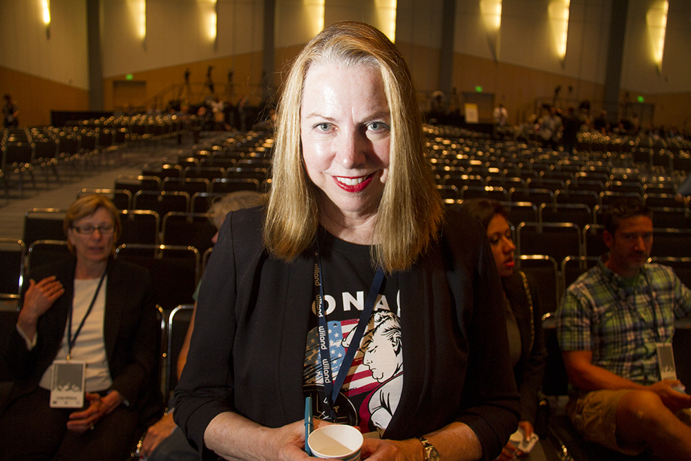Anne Griffith before the Western Conservative Conference 2016. (Kevin J. Beaty/Denverite)