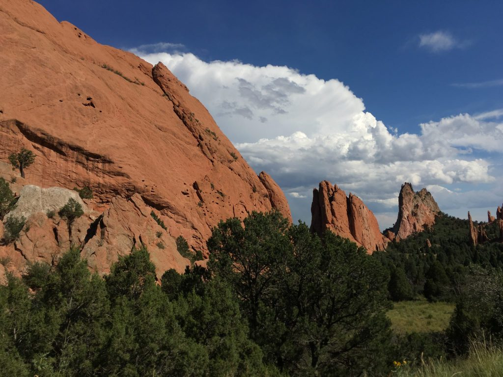 Garden of the Gods in Colorado Springs. (Dave Burdick/Denverite)