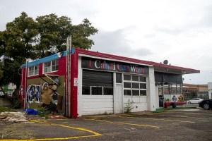 The I Candi Car Wash on Park Avenue West in Five Points. (Kevin J. Beaty/Denverite)  car wash; development; denver; five points; kevinjbeaty; denverite; colorado;