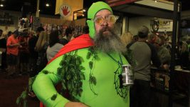 """Hopman"" at Great American Beer Festival, Oct. 7, 2016. (Stephanie Snyder/Denverite)"