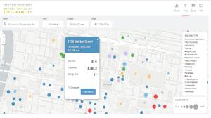 Denver energy use benchmarking screenshot (City of Denver)
