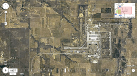 Google's new timelapse feature gives us a view of Denver through the years. (Google Maps Engine)