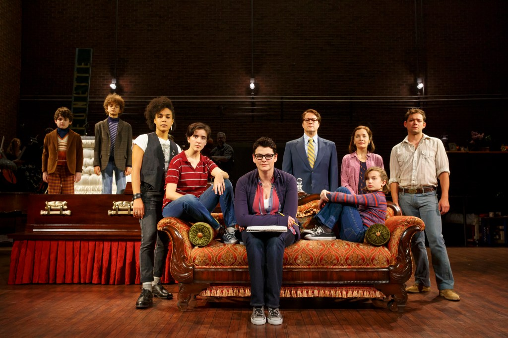 "The National Tour Company of ""Fun Home."" (Photo by Joan Marcus)"