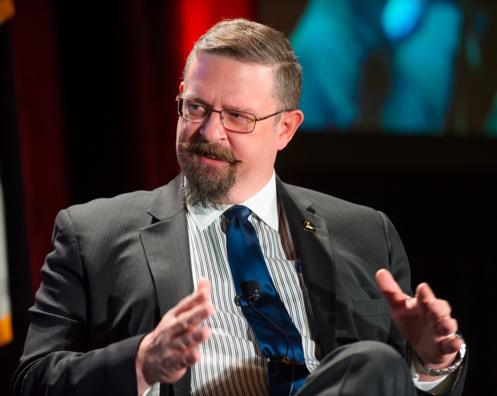 Senate President Kevin Grantham, R-Cañon City, lays out his party's priorities for the 2017 legislative session Thursday, Jan. 5 at the Business Legislative Preview. (Courtesy of the Denver Metro Chamber of Commerce)