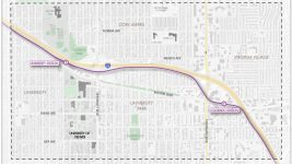 A map of the planning area for the new multi-station plan. (Transportation Solutions/City of Denver)